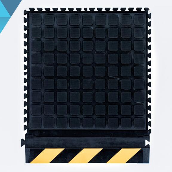 modular mat yellow safety border